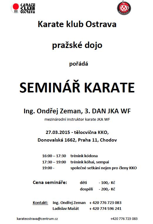 Pozvánka na seminář 27.3.2015